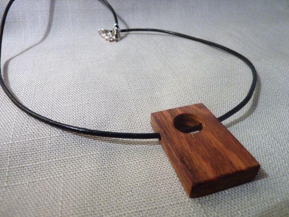 Original wooden pendant . Modern wooden by Melcreationsbois, €22.00