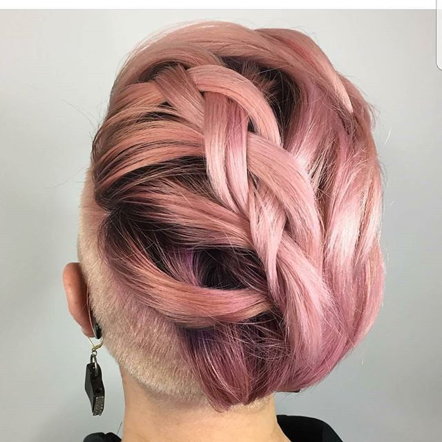 WEBSTA @nothingbutpixies Just all about DAT braid by Chicago stylist @bethanysmoker. Just so cool .