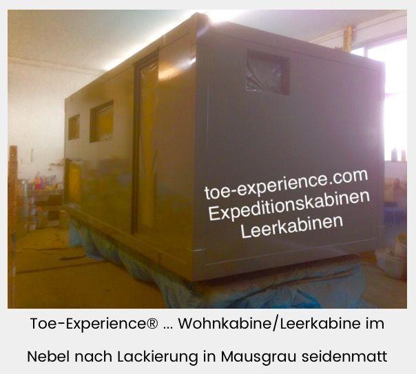 toe-experience.com Leerkabine selber bauen Wohnkabine, Expeditionskabine
