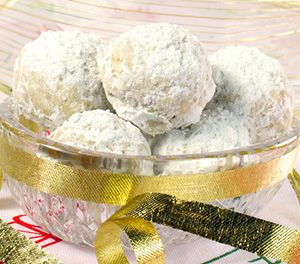 Mexican Christmas Cookies (also called Mexican wedding cookies) YUM!