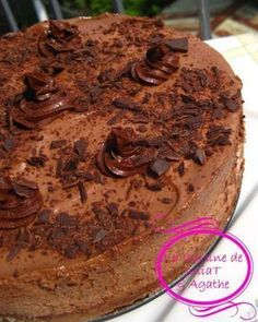 THE gâteau mousse au chocolat qui nous rend raide dingue!!!! 1