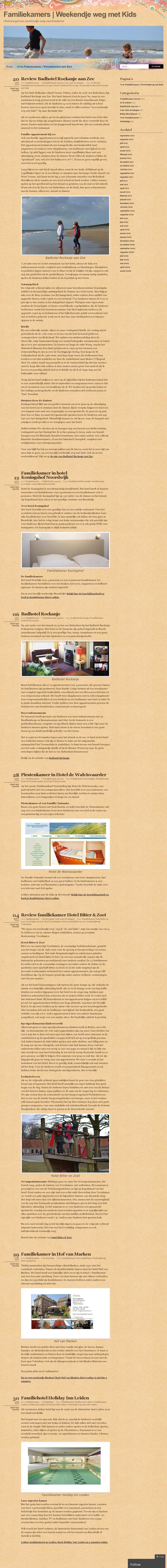 The website 'http://familiekamers.wordpress.com/' courtesy of @Pinstamatic (http://pinstamatic.com)