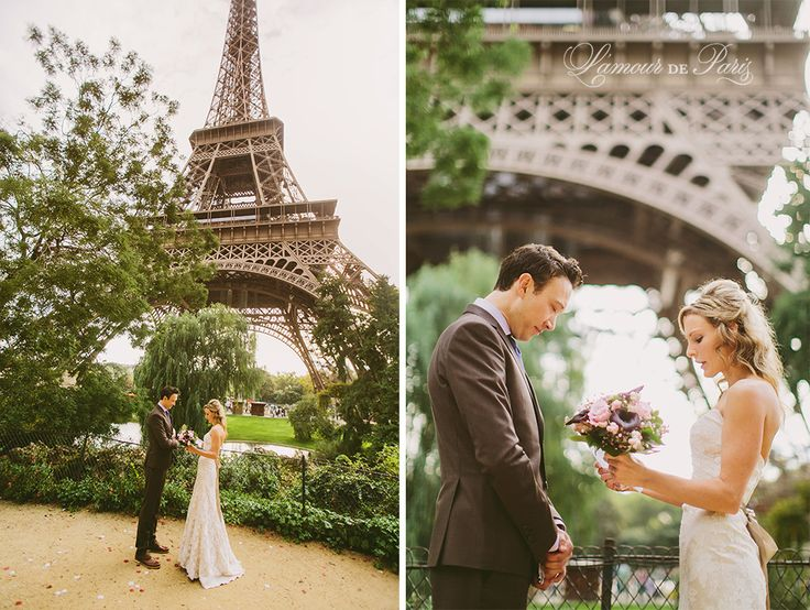Paris Elopement Wedding Ceremony At The Eiffel Tower Portrait Photography Pont Alexandre Iii Notre Dame De Des Arts Love Lock