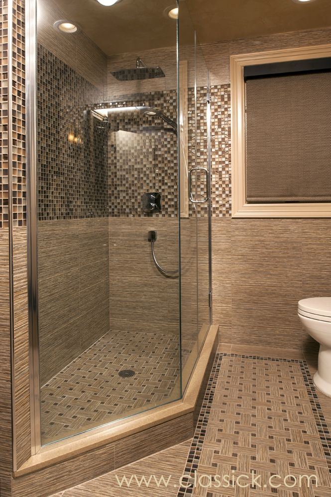 36 best bathroom design projects images on pinterest for Three quarter bathroom ideas