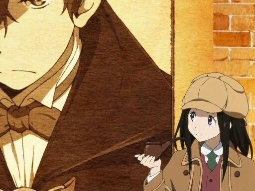 Chitanda & Oreki o(≧∇≦o)□☆☆ #hyouka #eru_chitanda #oreki_hotaro