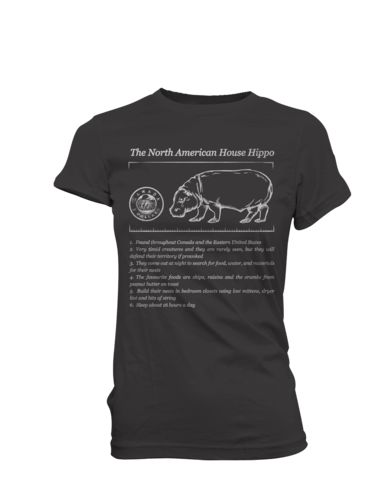 North American House Hippo Facts