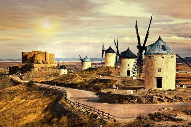 Ontdek Castilië-La Mancha: de streek die Cervantes met zijn Don Quichote onsterfelijk maakte