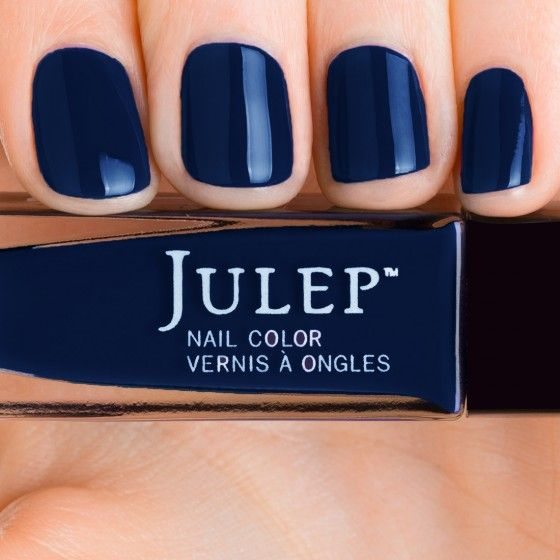 Michelle - Boho Glam - Julep - Midnight, inky blue creme