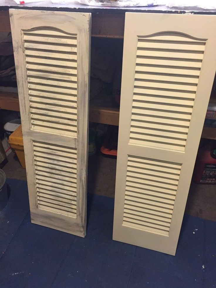 I love decorating my home with things I pickup here & there, you can add your own special touch & customize to your own taste. I found these plastic shutters at…