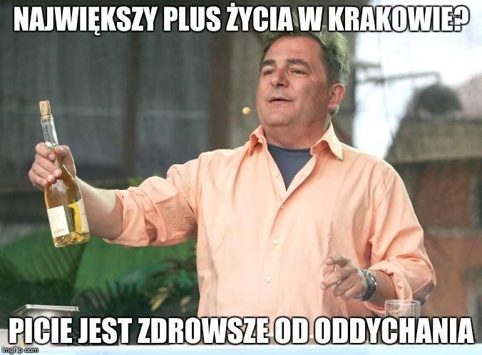plusy życia w Krakowie