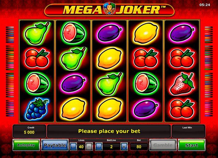 Wenn du dich in eine spannende Welt der Glücksspiele versetzen möchtest, ist #MegaJoker von #Novomatic ein perfektes Automatenspiel für dich! Das klassische Thema des Spielautomaten kombiniert sich mit den modernen Spielfunktionen, die allen gefallen. Mega Joker ist ein 5-Walzen Video-Slot, der über 40 Gewinnlinien verfügt. Die Zahl der Linien ist in diesem Spiel wählbar. Deswegen hast du die Möglichkeit, beliebige Anzahl der Spiellinien zu aktivieren.
