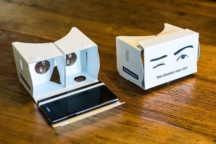 Welke rol kan virtual reality spelen in het onderwijs? Het Munnikenheide College probeert het uit in de klas.