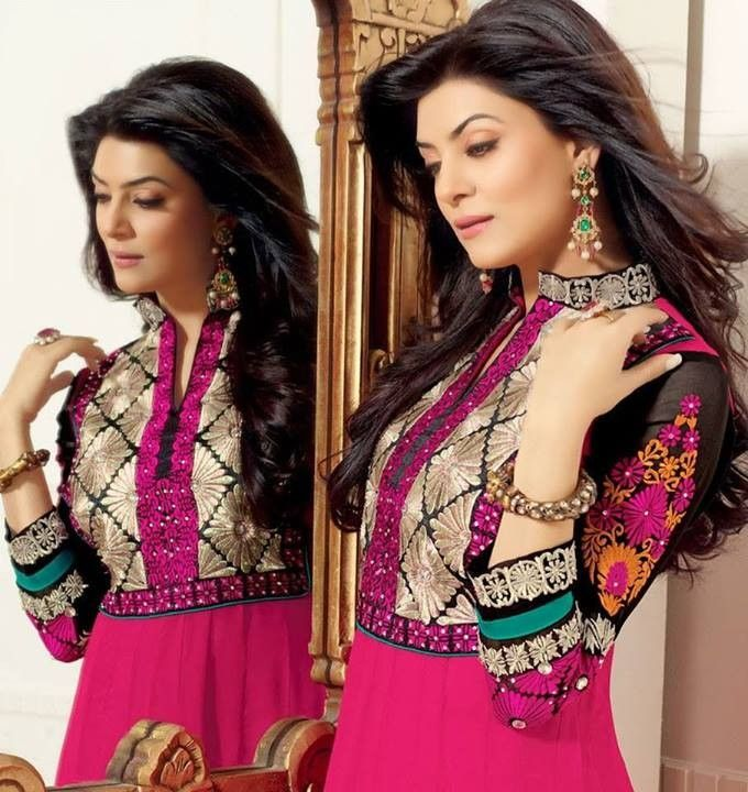 This is the image gallery of Sushmita Sen Anarkali Frocks Dresses 2014 for Girls. You are currently viewing Sushmita Sen Anarkali Frocks 2014 for Girls (7). All other images from this gallery are given below. Give your comments in comments section about this. Also share stylespoint.com with your friends.  #anarkalifrocks, #indiandresses, #anarkalisuits, #sushmitasen
