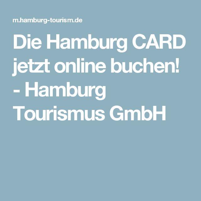 Die Hamburg CARD jetzt online buchen! - Hamburg Tourismus GmbH