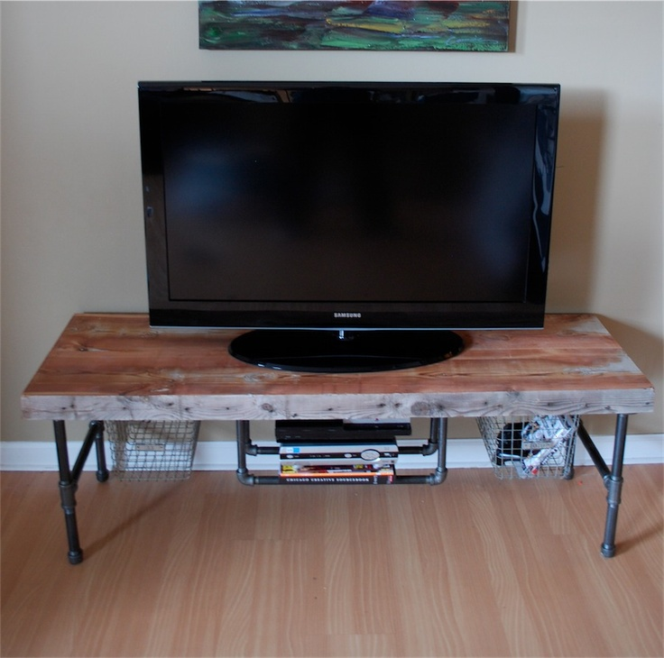 Reclaimed Wood Coffee Table Chicago: 43 Best Images About Plumbing Pipe Furniture On Pinterest