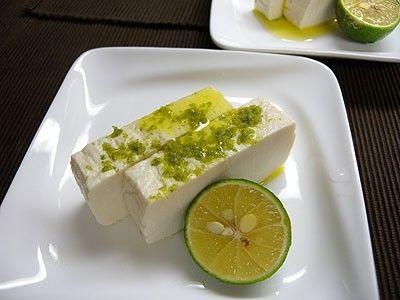 ゆずの塩豆腐