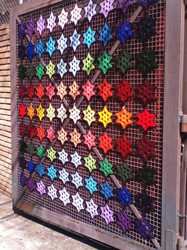 Toutes les tailles | Instalação - Yarnbombing | Flickr: partage de photos!