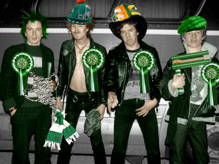 God save the Green! HH from the Sex Pistols CSC.