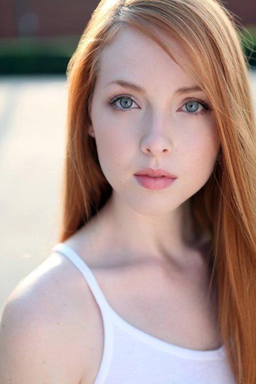 Beautiful redhead.