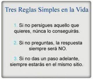 Tres Reglas Simples en la Vida