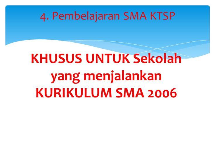 tips and triks dapodik : Pembelajaran SMA KTSP