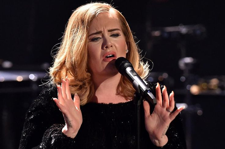 Adele performs live on stage during the television show 2015! Menschen, Bilder, Emotionen – RTL Jahresrueckblick on December 6, 2015 in Cologne, Germany.