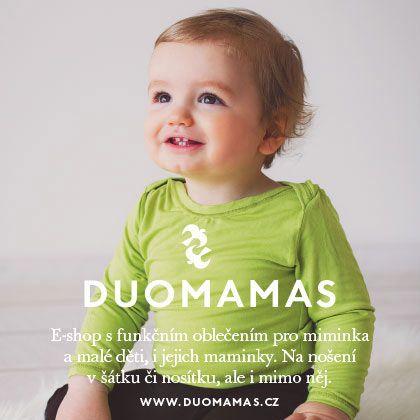 Funkční oblečení pro miminka i starší děti, doplňky pro maminky. Tašky, čepice, trička, body.