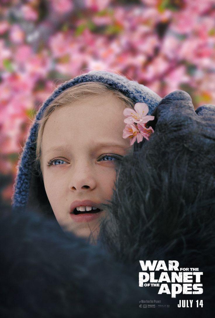 Planet of the Apes : 世界で無料の特別上映に踏み切る口コミ狙いからして、FOX が強い自信を持っているらしい「猿の惑星」の第3弾「ウォー・フォー・ザ・プラネット・オブ・ジ・エイプス」が、アマイア・ミラーちゃんのノバと猿軍団との絆を紹介した美しい本編シーンをリリース ! ! - CIA Movie News