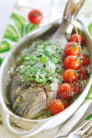 Рецепт: Рыба в кокосовом молоке с лаймом и кинзой