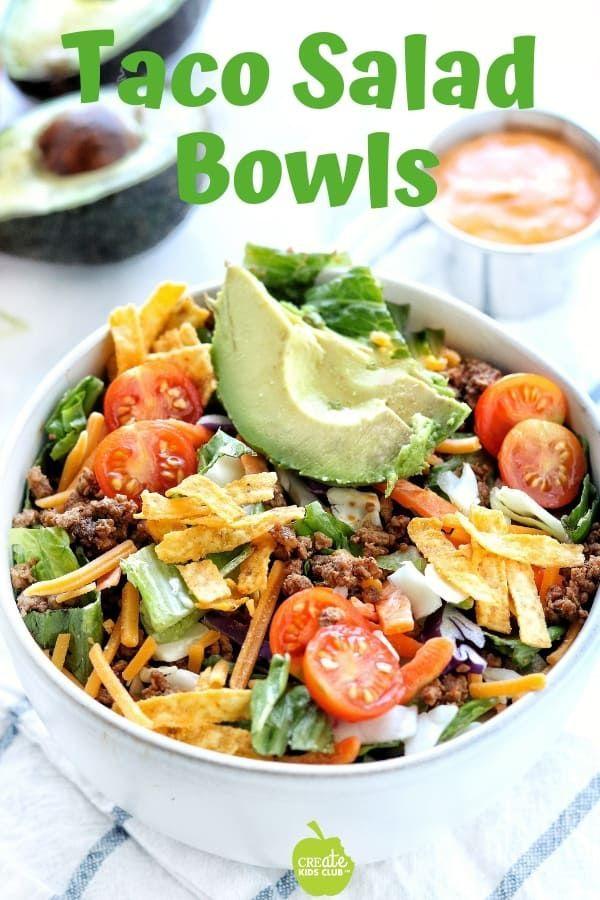 Taco Salad Recipe Bowl