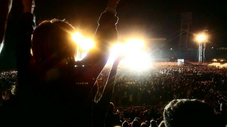 Depeche Mode koncert 2013, Budapest, Puskas Stadion