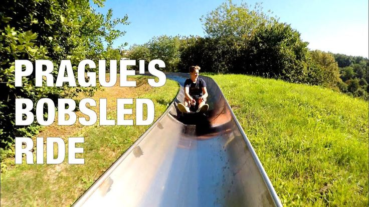 PRAGUE BOBSLED RIDE - YouTube