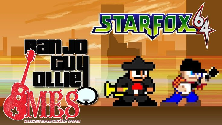 A Festive Mariachi Style Cover of the 'Star Wolf' Theme Song From Star Fox 64