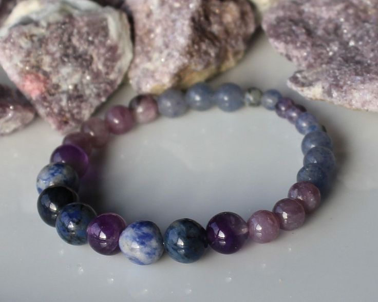 OVERCOME ADDICTIONS Healing Crystal Bracelet  / Quit Smoking /  Beat Alcoholism / Support with Substance Abuse / Food Addictions by zaraluna on Etsy https://www.etsy.com/listing/193999538/overcome-addictions-healing-crystal