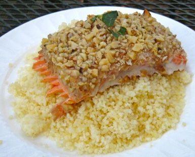 Pecan Crusted Salmon Recipe: Pecan Crusted Salmon