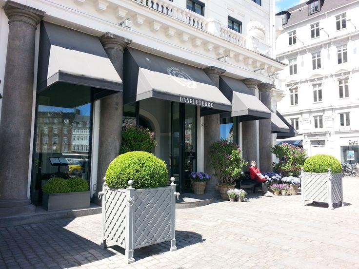 Det nyrenoverede hotel d'Angleterre i København.