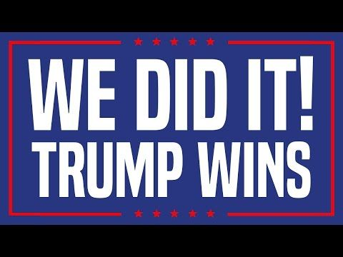 Donald Trump Wins! Hillary Clinton Loses! | U.S. Presidential Election - YouTube