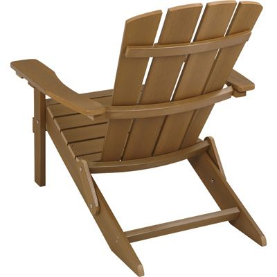 Stonegate Designs Brown Composite Adirondack Chair