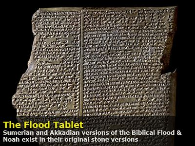 the sumerian and biblical floods different However, given there were at least 4 separate flood deposits within 600  according to genesis, abram moved from ur (a sumerian city) to.