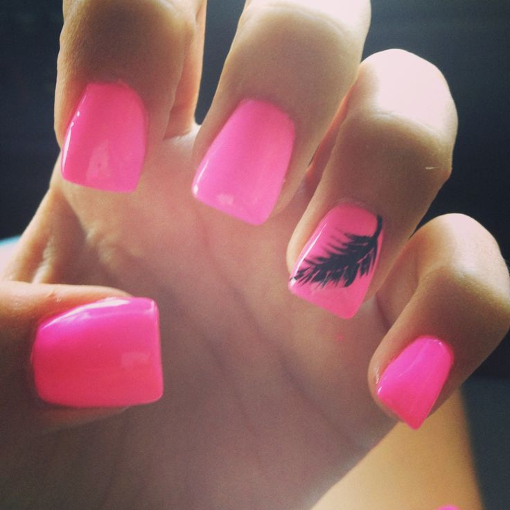 my cute summer nails ✌ - Best 25+ Pink Summer Nails Ideas On Pinterest Pink Nail Designs