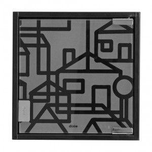"Key cabinet ""Villastad"" designed by Lill O Sjöberg for Dixie"