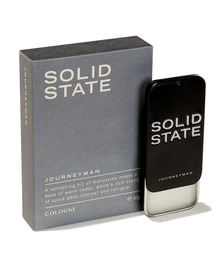 The Journeyman Solid Cologne presents a refreshing hint of mandarin mixed with a base of warm cedar, while a rich blend of spice adds interest and intrigue. A versatile scent designed to take you from morning workouts to evening adventuring and everything in between. | huntingforgeorge.com