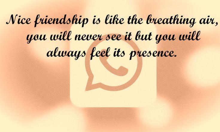 Friendship status for whatsapp