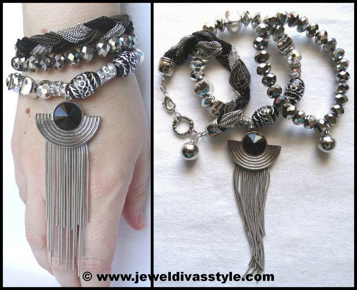 JDS - VODKA CHANTILLY BRACELET STACK - http://jeweldivasstyle.com/designer-inspired-brand-new-bracelet-stacks/