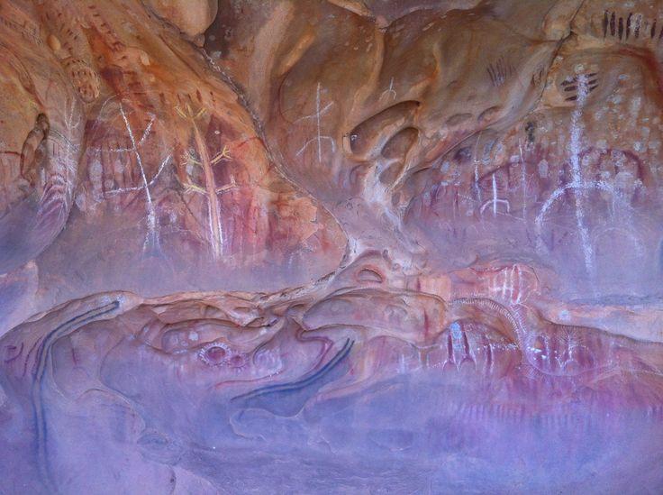 Aboriginal Art - Flinders Ranges