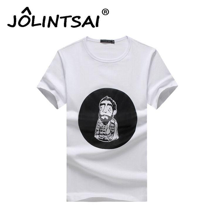 Mens T shirt 2017 Old Man Printed Cartoon Men Slim Fitness Short-Sleeved T-Shirt High Quality Man'S Brand Clothing Plus Size 5XL #Affiliate