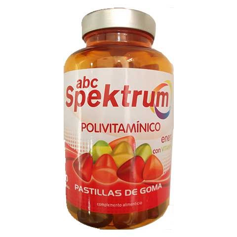 abc Spektrum Energy con Vitamina B 60 pastillas de goma