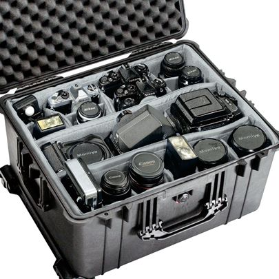 Ok- I don't have this much gear!! Yet!! But is love a pelican case for my camera stuff!! :)
