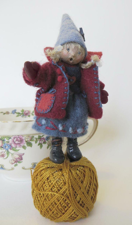 """""""Liesel"""" by Lorraine Krahn Muenster...miniature art doll"""