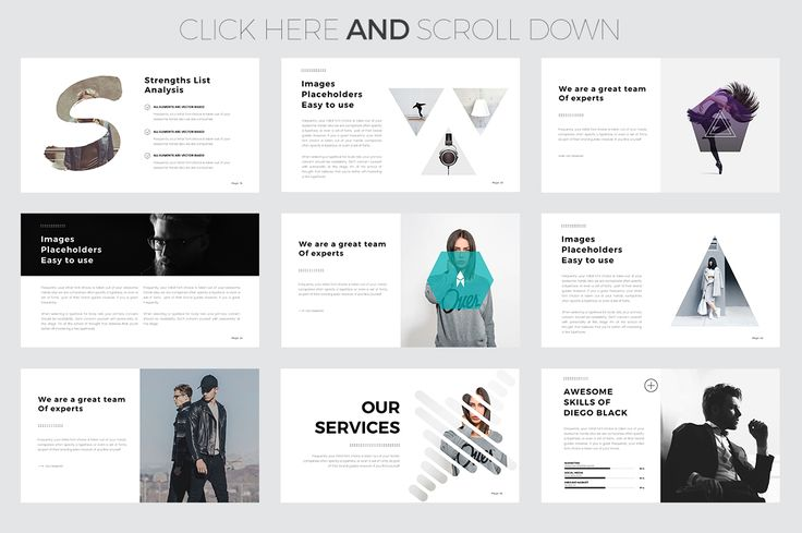 Helium PowerPoint Template by Slidedizer on @creativemarket